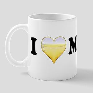 I Love Muscat Mug