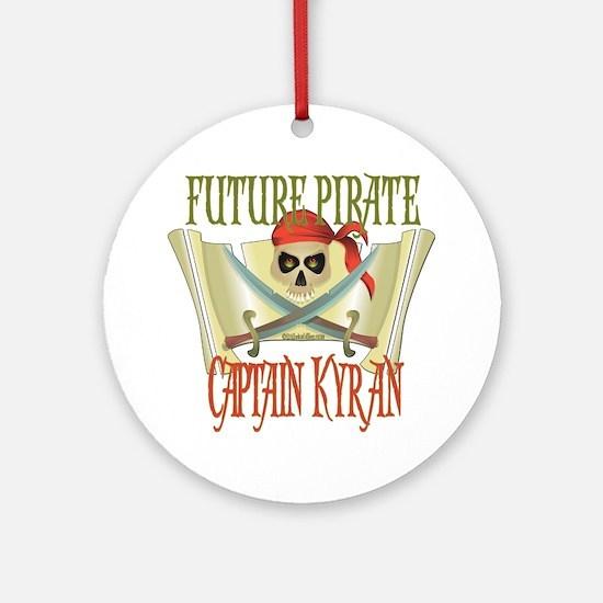 Captain Kyran Ornament (Round)
