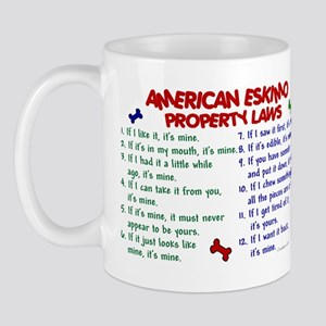American Eskimo Property Laws 2 Mug