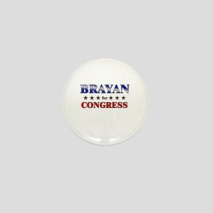 BRAYAN for congress Mini Button