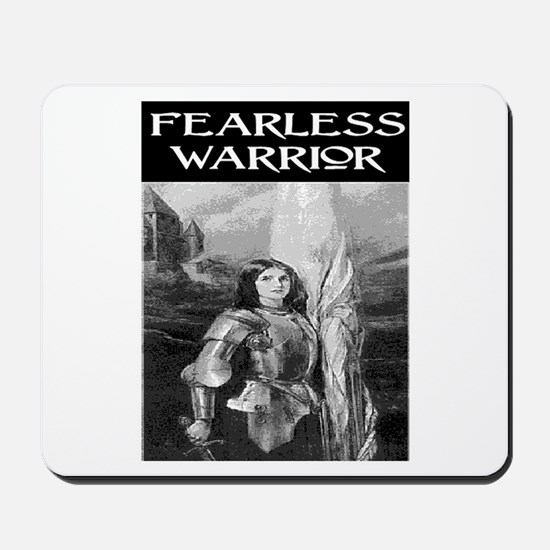 FEARLESS WARRIOR Mousepad