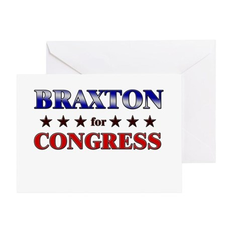 BRAXTON for congress Greeting Card