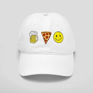 Beer Pizza Happiness Cap