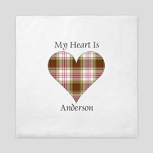 Heart - Anderson dress Queen Duvet