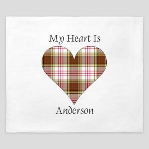Heart - Anderson dress King Duvet