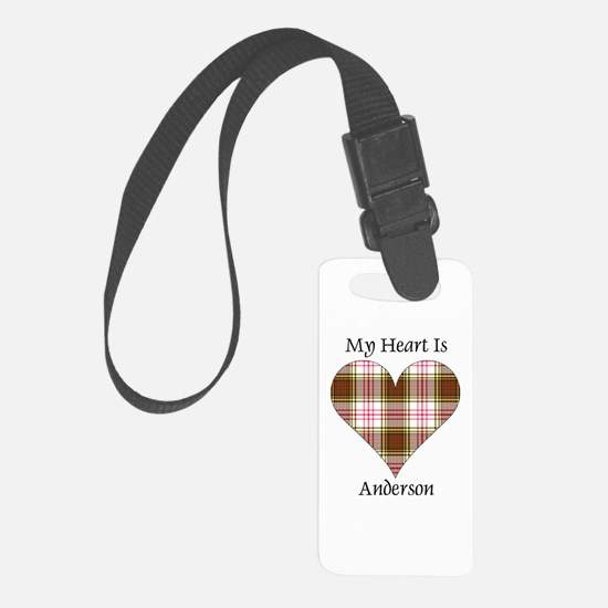 Heart - Anderson dress Luggage Tag