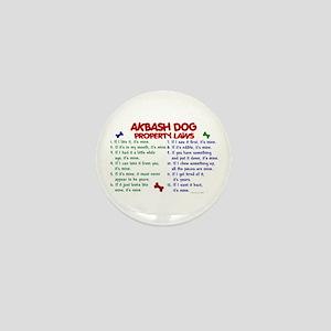 Akbash Dog Property Laws 2 Mini Button