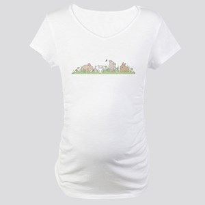 Bunny Family Maternity T-Shirt