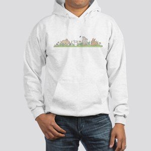 Bunny Family Hooded Sweatshirt