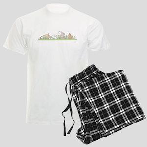 Bunny Family Men's Light Pajamas