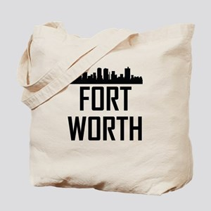 Skyline of Fort Worth TX Tote Bag