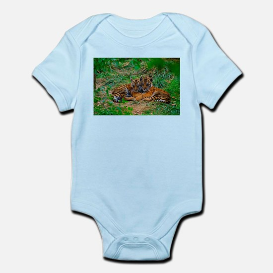 Cute tiger cubs cuddling Body Suit