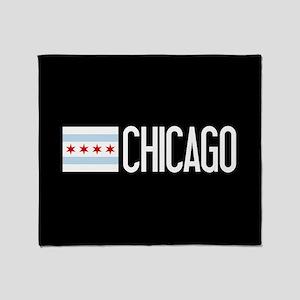 Chicago: Chicagoan Flag & Chicago Throw Blanket