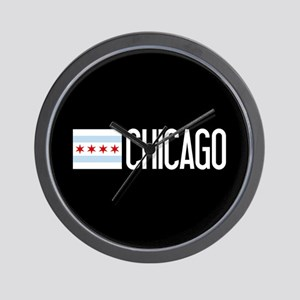 Chicago: Chicagoan Flag & Chicago Wall Clock