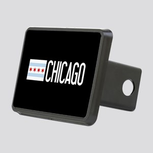 Chicago: Chicagoan Flag & Rectangular Hitch Cover
