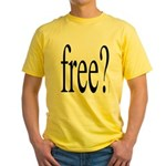 282d.free? Yellow T-Shirt