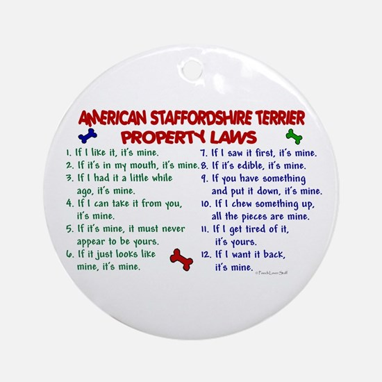 American Staffordshire Terrier Property Laws 2 Orn