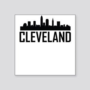Skyline of Cleveland OH Sticker