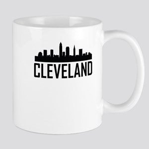 Skyline of Cleveland OH Mugs