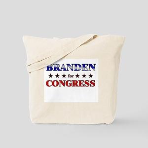 BRANDEN for congress Tote Bag