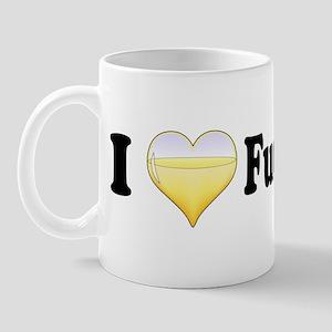 I Love Fumé Blanc Mug