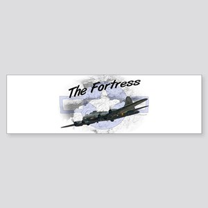 Fortress Aircraft Sticker (Bumper)
