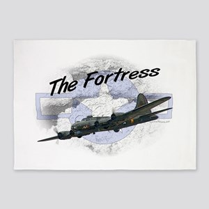 Fortress Aircraft 5'x7'Area Rug