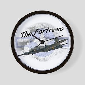 Fortress Aircraft Wall Clock