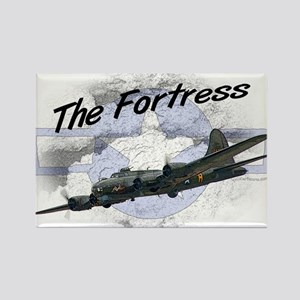 Fortress Aircraft Rectangle Magnet