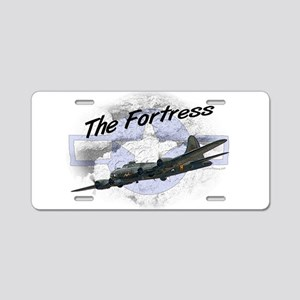 Fortress Aircraft Aluminum License Plate