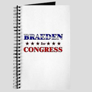 BRAEDEN for congress Journal