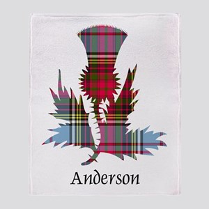 Thistle - Anderson Throw Blanket