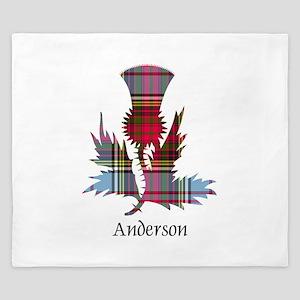Thistle - Anderson King Duvet