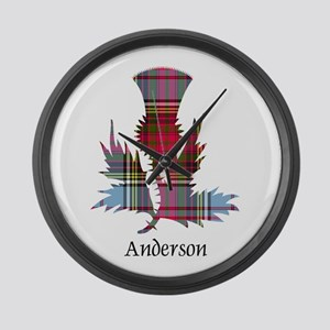 Thistle - Anderson Large Wall Clock