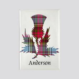 Thistle - Anderson Rectangle Magnet