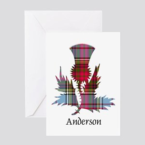 Thistle - Anderson Greeting Card