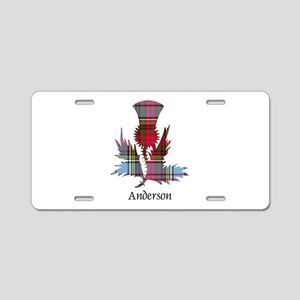 Thistle - Anderson Aluminum License Plate