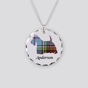 Terrier - Anderson Necklace Circle Charm