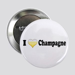 "I Love Champagne 2.25"" Button"