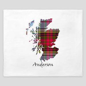 Map - Anderson King Duvet