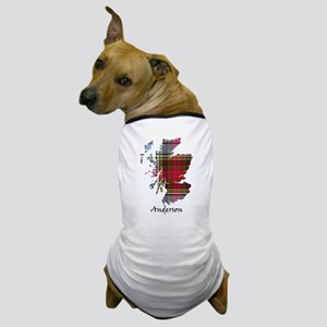 Map - Anderson Dog T-Shirt