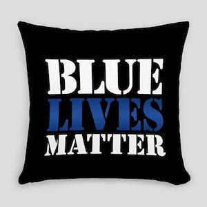 Blue Lives Matter Everyday Pillow