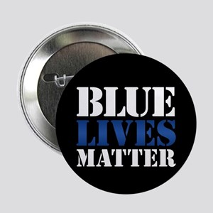 "Blue Lives Matter 2.25"" Button"