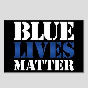 Blue Lives Matter Postcards (Package of 8)