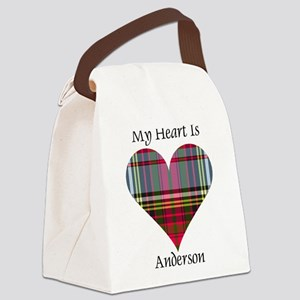 Heart - Anderson Canvas Lunch Bag