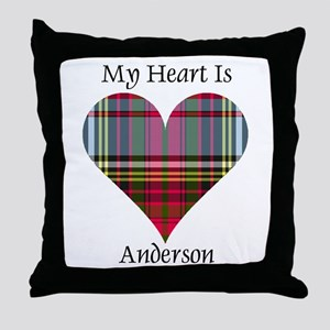 Heart - Anderson Throw Pillow