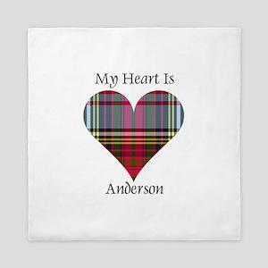 Heart - Anderson Queen Duvet