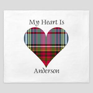 Heart - Anderson King Duvet