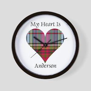 Heart - Anderson Wall Clock