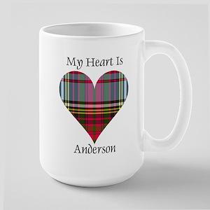 Heart - Anderson Large Mug